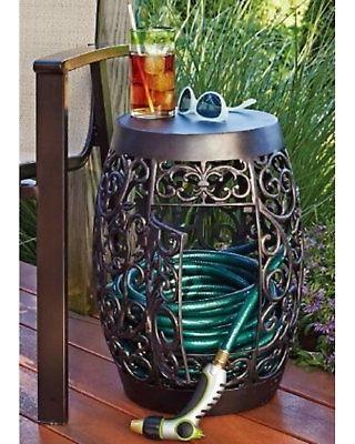60% rabatt på Sunjoy dekorativ trädgårdsslanghållare - 1104090