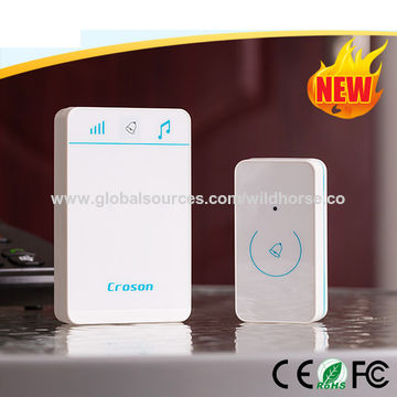 China 52 Chimes Honeywell Remote Wireless Doorbell Vattentät IP54.