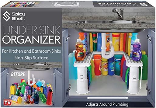 Amazon.com - Utbyggbart under Sink Organizer and Storage.