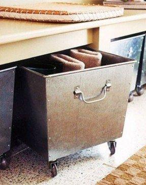 Dekorativa metallförvaringsfack - Idéer på Fot