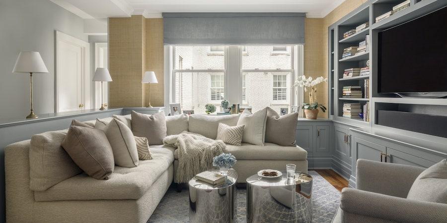 De bästa sofforna för små rum är sektioner |  Architectural Dige
