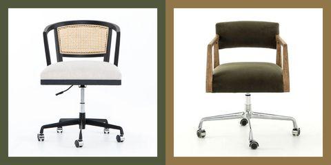 13 söta skrivbordsstolar - Bekväm svängbar kontorsstol Ide