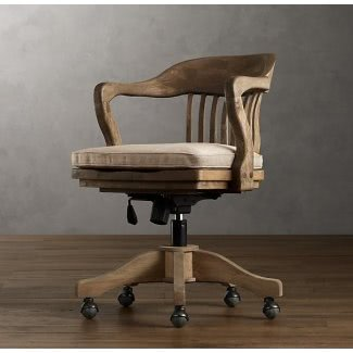 Träsvängbar kontorsstol - Idéer på Fot