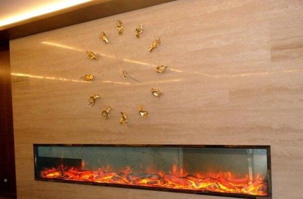 Gratis frakt till Albanien 1800 mm dekorativ eldstad nr.