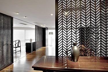 dekorativ metallvägg
