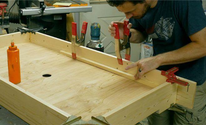 Vill du bygga ditt eget Air Hockey-bord?  Jag tror att du gör.  |  Luft.
