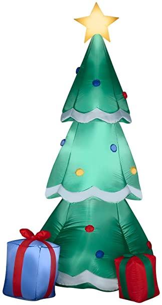Amazon.com: Gemmy Airblown uppblåsbar julgran dekorerad.
