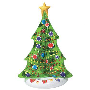 Semester uppblåsbara, flytande julgran |  Semester uppblåsbara.