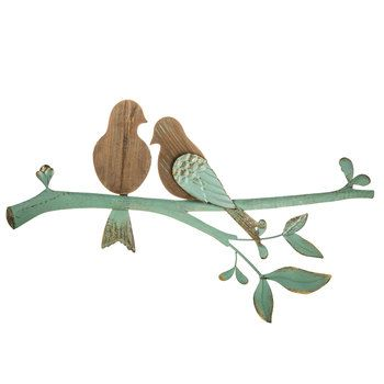 Pin av 김지연 på 귀여운 동물 2020    Fågelväggdekor, metallträd.