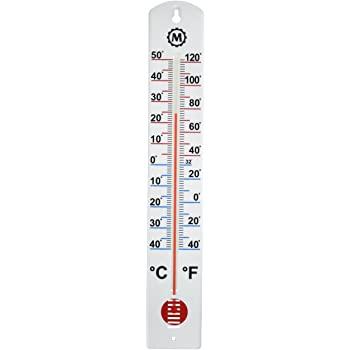 Amazon.com: MARATHON BA030001 Vertikal utomhustermometer - 16.