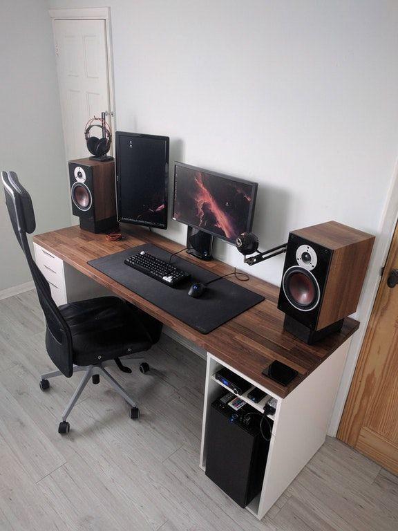 23+ DIY-skrivbordsidéer för ditt hem Taggar: Liten DIY-dator.