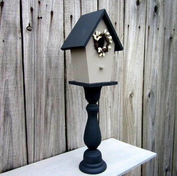 Fågelhus Dekorativ Inredning Heminredning Målat trä |  Et
