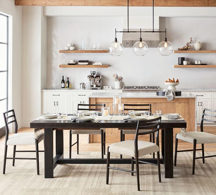 Reed Extension Dining Table    Keramik Ba
