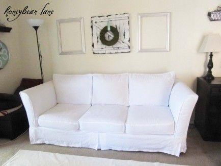Disney-familjen |  Recept, hantverk och aktiviteter |  Slip täcker soffan.