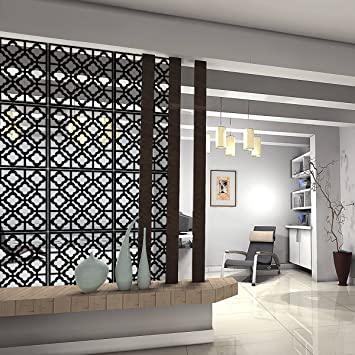 Amazon.com: Kernorv Hanging Room Divider dekorativa skärmpaneler.