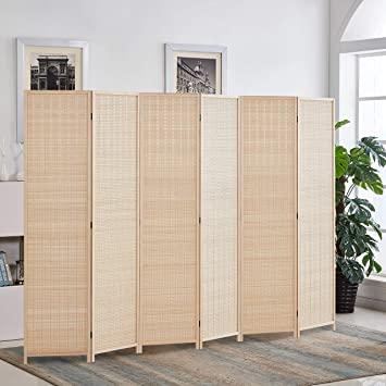 Amazon.com: RHF 6 ft. Tallbambuavdelare, 6 panelerum.