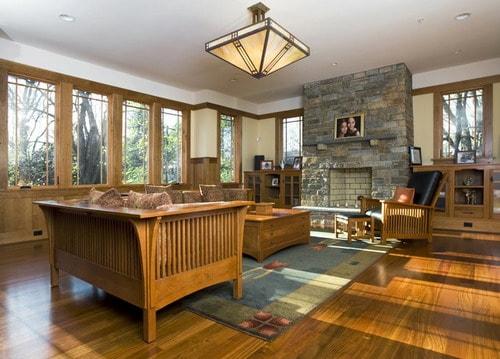 Hur man dekorerar rätt Prairie Style Home - Heminredning He