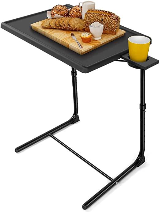 Amazon.com: LORYERGO TV-fackbord - Justerbart TV-middagsfack.