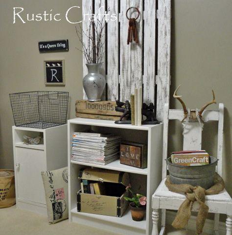 Hur man skapar ett elegant kontorsutrymme - Rustikt hantverk och elegant inredning.