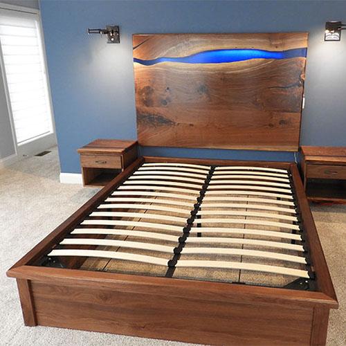 Anpassade sängar, sänggavlar och sovrumsmöbler till salu |  1,80 $