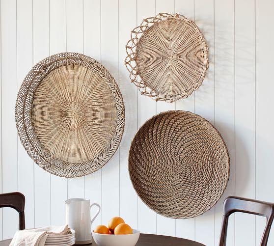 Jasper Natural Rotting Basket Wall Art |  Väggdekor |  Keramik Ba