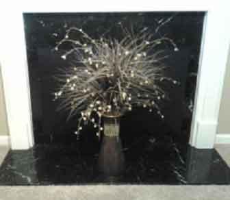 Isolerad magnetisk dekorativ öppen spisskåpa - Eldstad Fashi