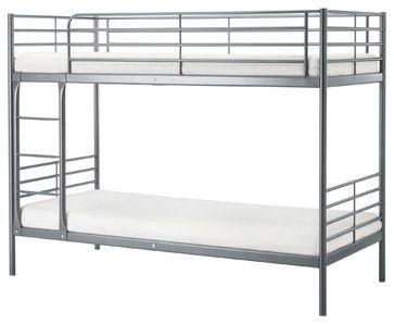 SVARTA Våningssängram |  IKEA - Sängar - av IKEA |  Våningssängar i metall.