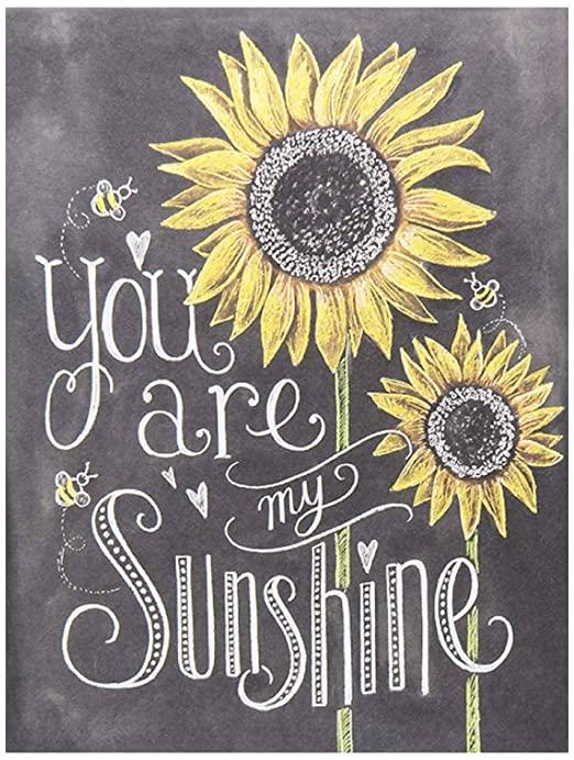 Amazon.com: BEROSS Du är mitt solsken - solrosskylt, solros.