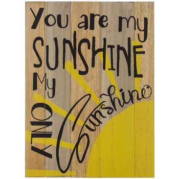 You Are My Sunshine Wood Wall Decor |  Hobbylobbyn |  11297