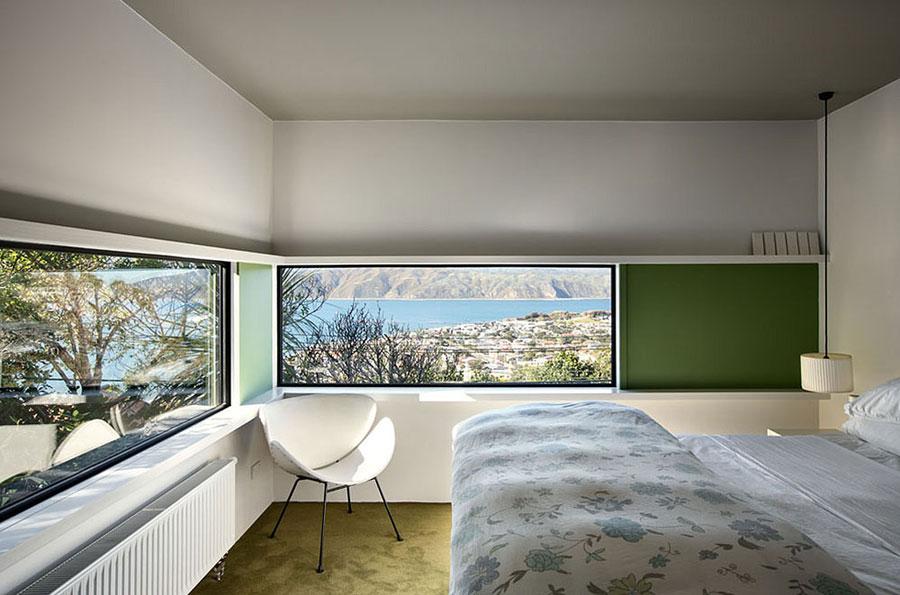 8 hus i Nya Zeeland med modern design och fantastisk utsikt