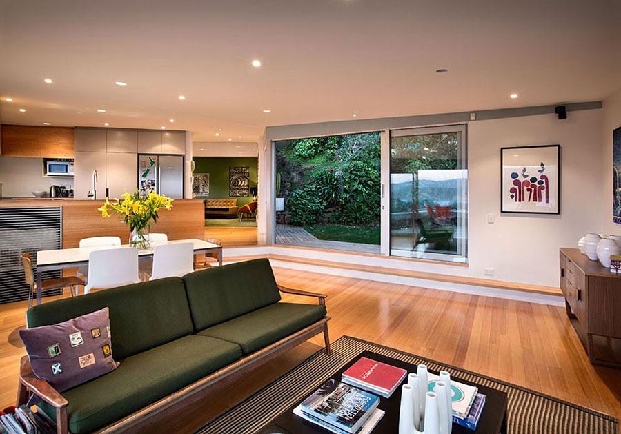 3 hus i Nya Zeeland med modern design och fantastisk utsikt