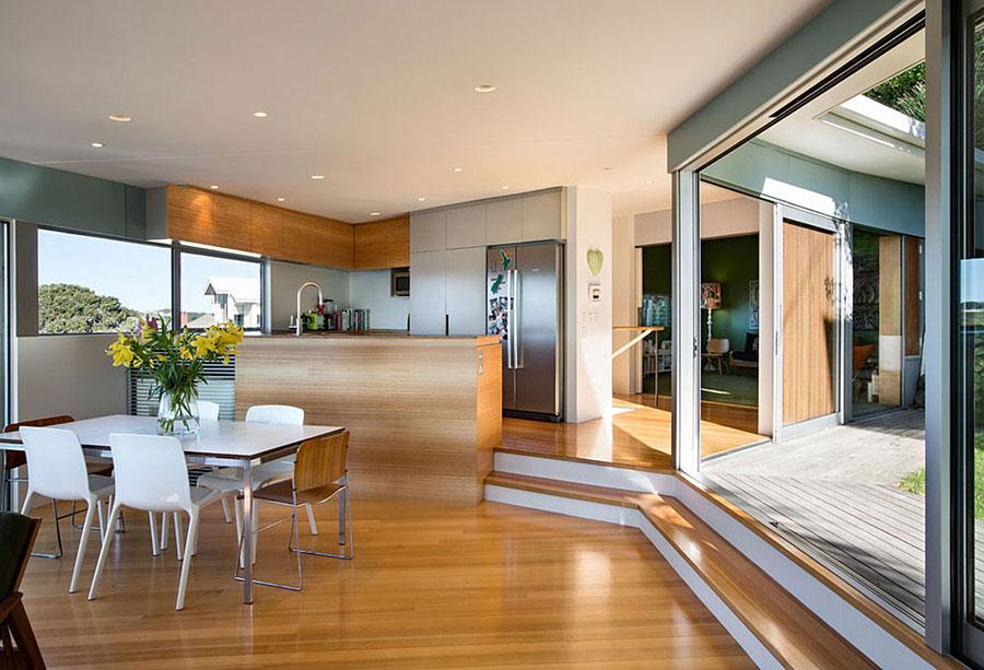 6 hus i Nya Zeeland med modern design och fantastisk utsikt