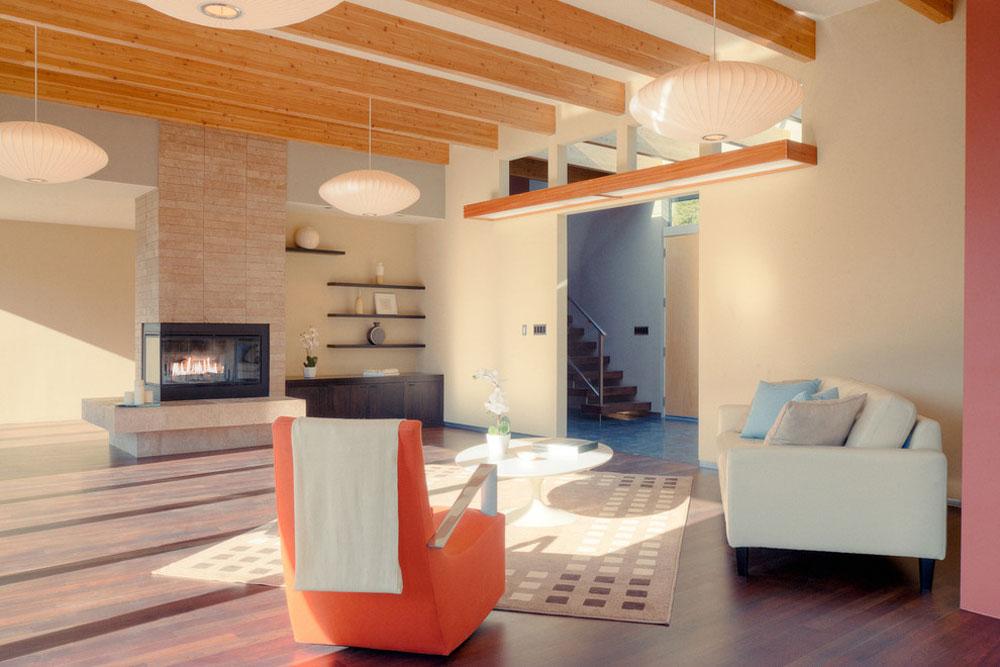 Misc-by-Graham-Dunn-Photo Använd persikafärgen för att dekorera fantastiska interiörer