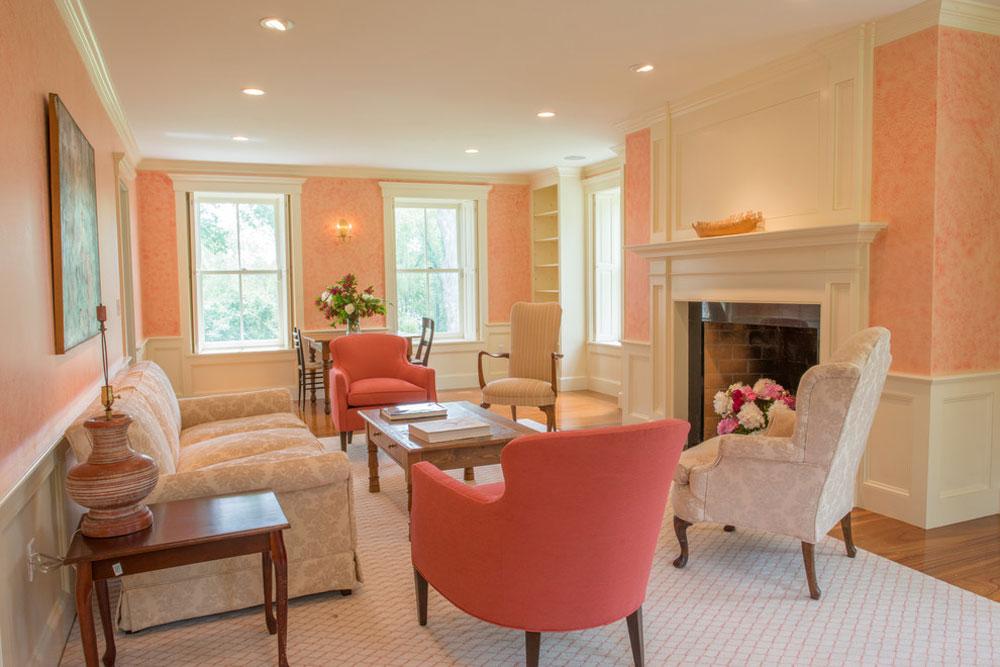 The-Tavern-by-Vermont-Vernacular-Designs Använd persikafärgen för att dekorera fantastiska interiörer