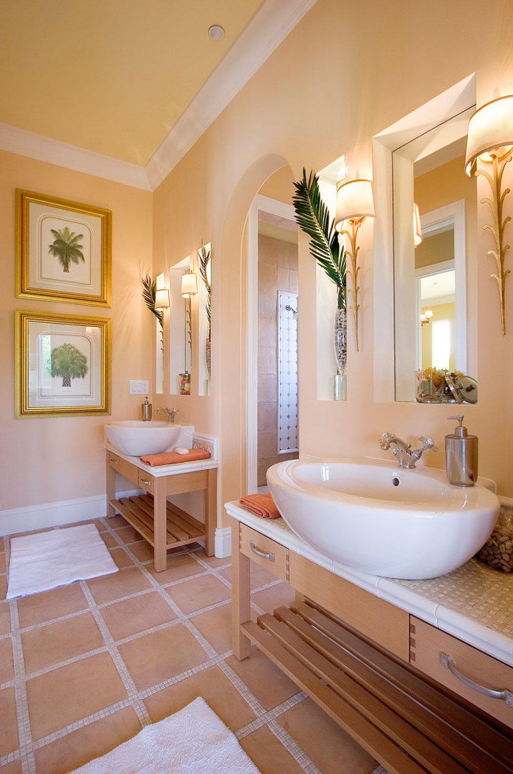 Aquarella-by-Silver-Sea-Homes använder persikafärgen för att dekorera fantastiska interiörer