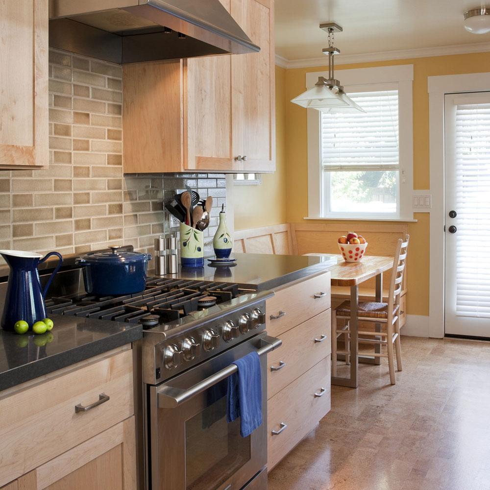 Vintage-Charm-in-a-Petit-Home-by-Sustainable-Home Använd persikafärgen för att dekorera fantastiska interiörer
