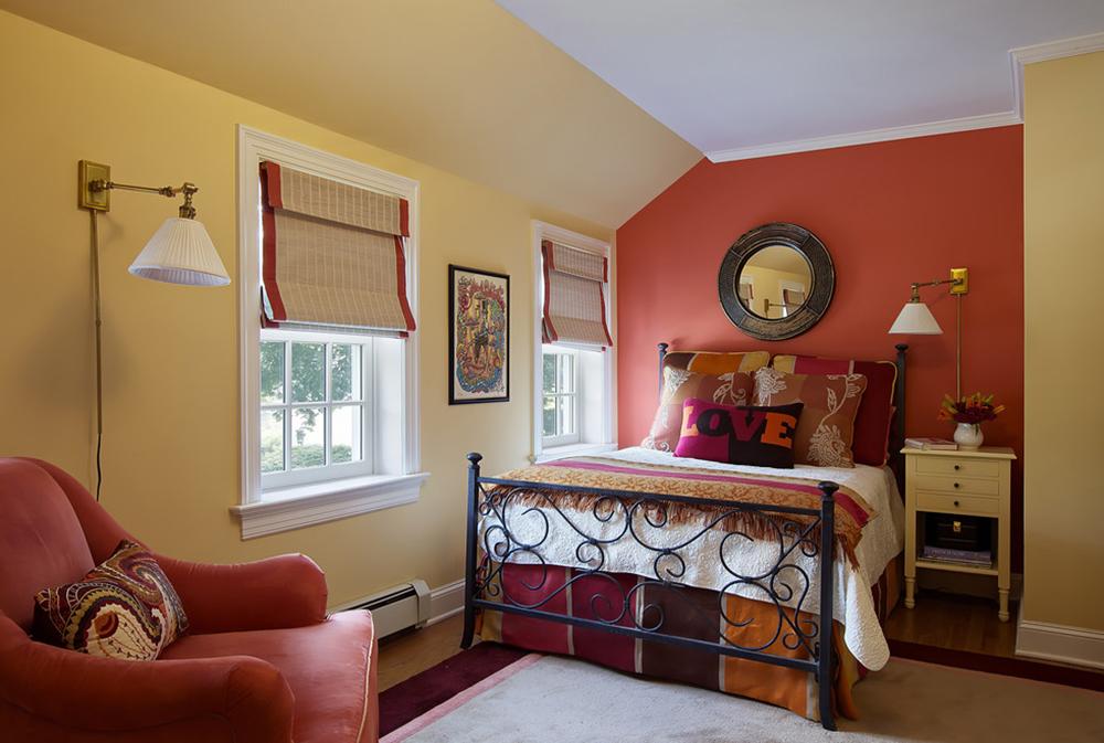 bohemian-chic-by-b-fein-interiors-llc Röda sovrumsidéer: dekor, väggar, färg och möbler