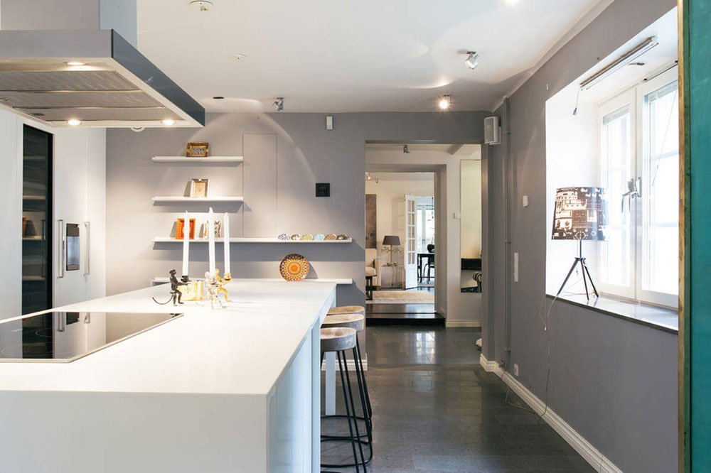 Modern inredning för lägenheter av begåvade designers 2 Modern inredning för lägenheter av begåvade designers