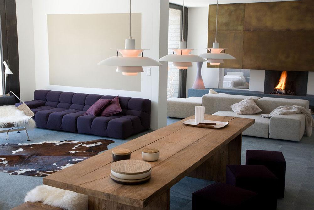 Modern inredning för lägenheter av begåvade designers 8 Modern inredning för lägenheter av begåvade designers