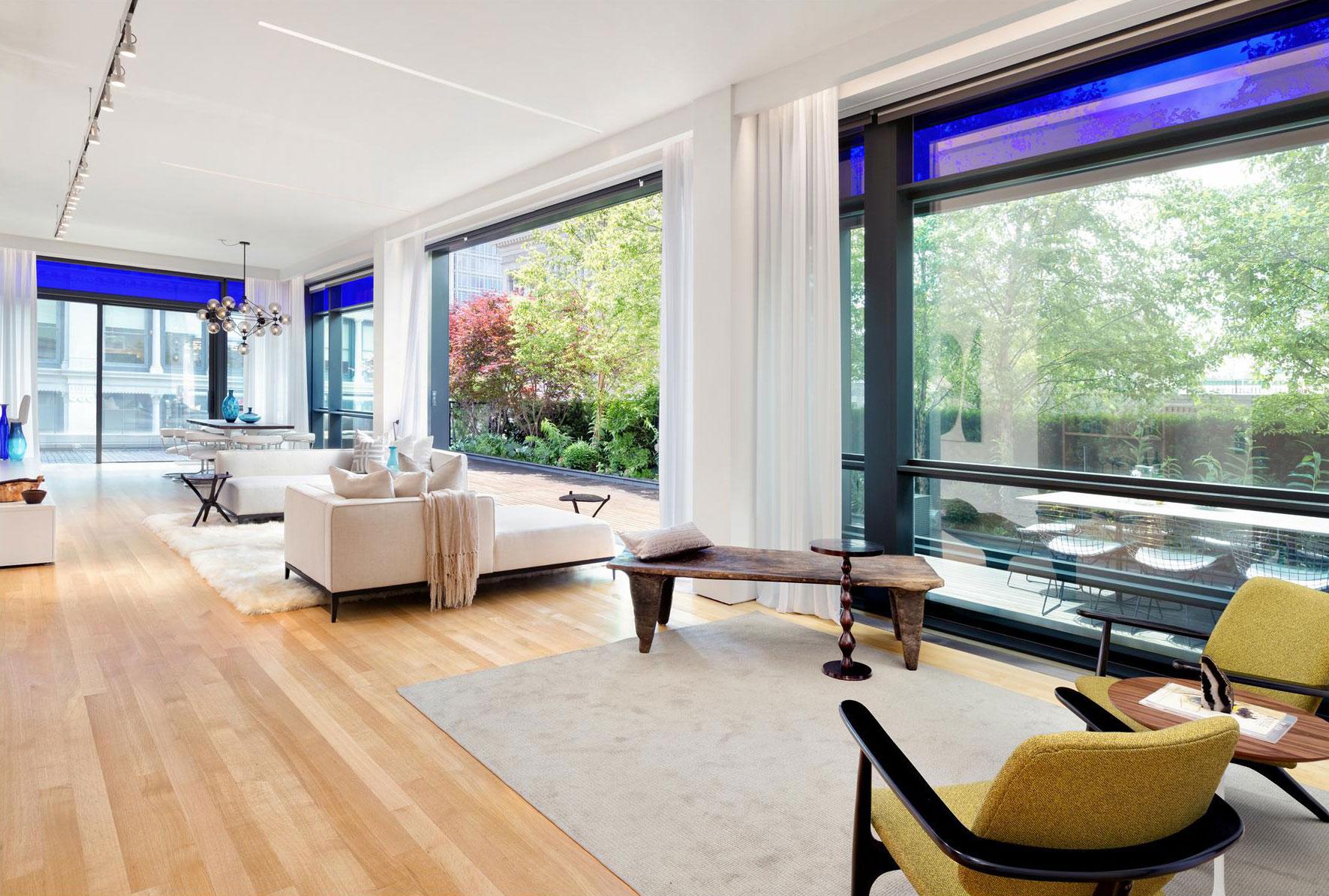 Elegant takvåning i Soho, New York City 5 Elegant takvåning i Soho, New York