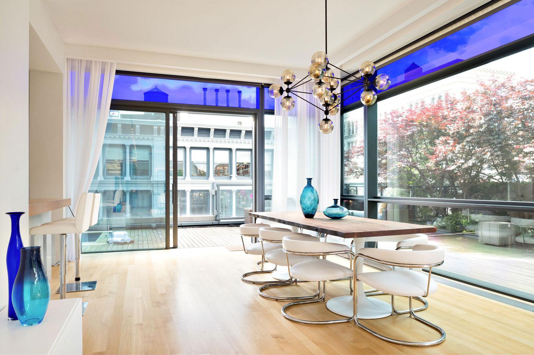 Elegant takvåning i Soho, New York City-8 Elegant takvåning i Soho, New York City