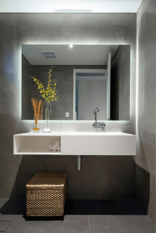 2d342b1070c5e35b3d4732cb35afcff6 Lite designhackar som kommer att förvandla ditt lilla badrum