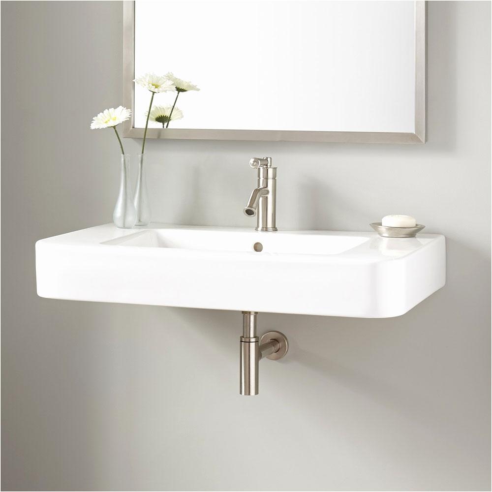 Sink Små designhackar som kommer att förvandla ditt lilla badrum
