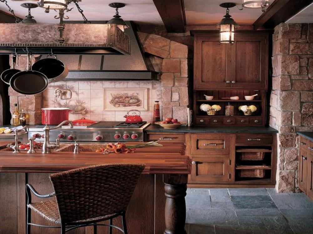 Vintage kök interiördesign exempel-6 vintage kök interiör design exempel