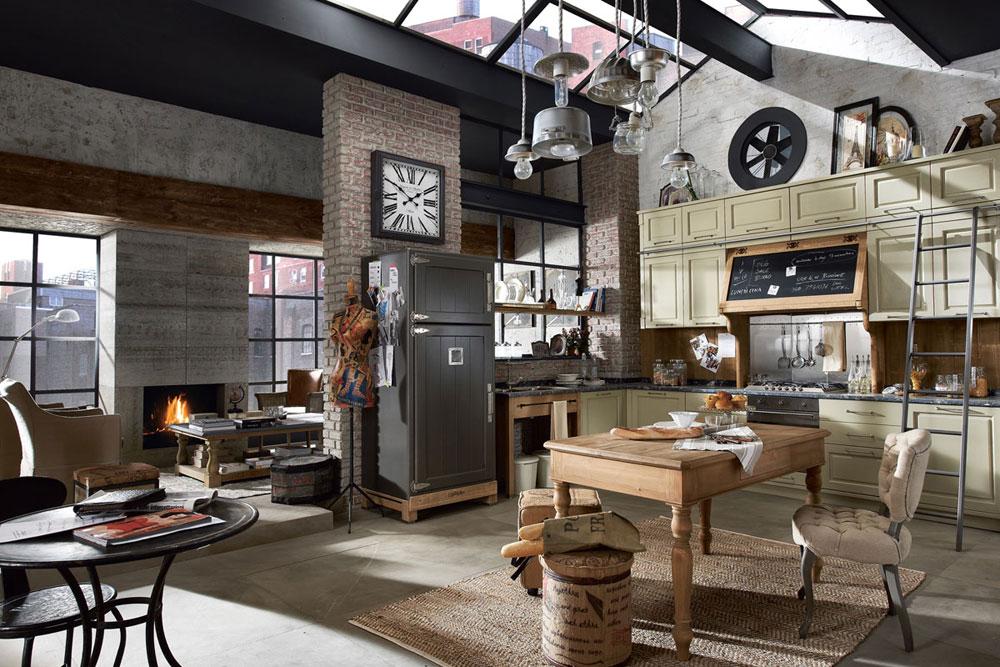 Vintage-kök-interiör-design-exempel-9 vintage-kök-inredning design exempel