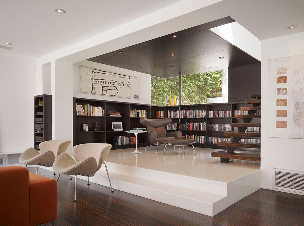 GRIFFIN-ENRIGHT-ARKITEKTER-Hollywood-Hills-Residence-Griffin-Enright-Architects Moderna inredningsstilar