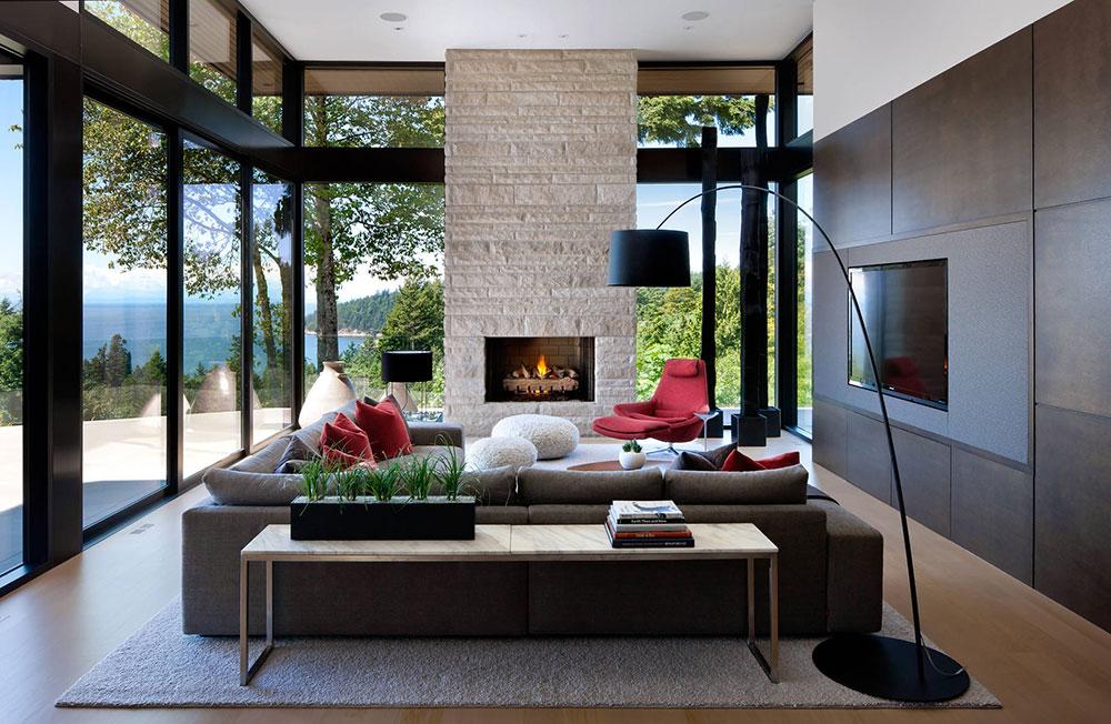 West Vancouver Residence Claudia Leccacorvi Moderna interiördesignstilar