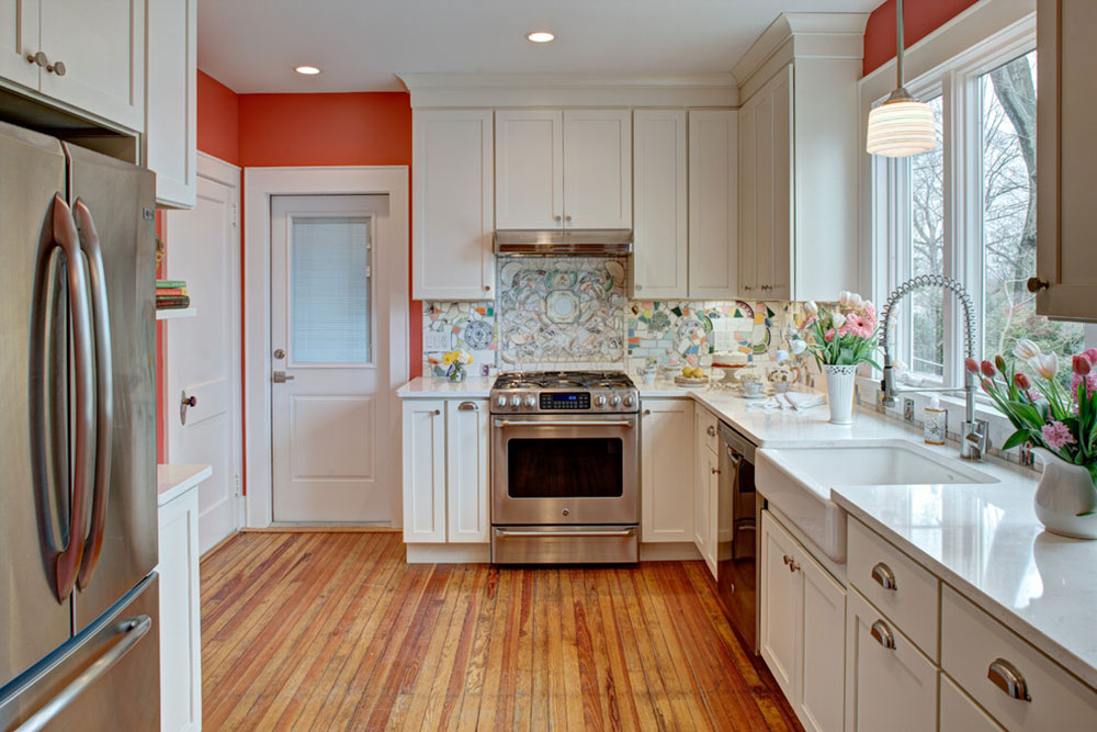 Stuga-stil-kök-design-lätt att få 7 stuga-stil kök design