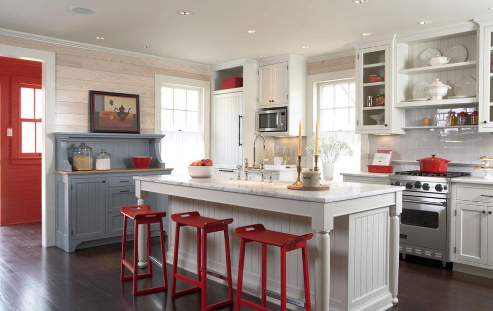 Stuga-stil-kök-mönster-lätt att få 4 stuga-stil kök mönster
