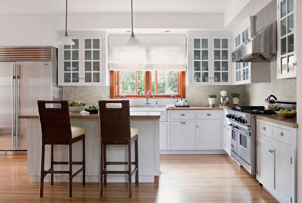 Stuga-stil-köksdesign-lätt att underhålla14 Stugformade köksdesigner